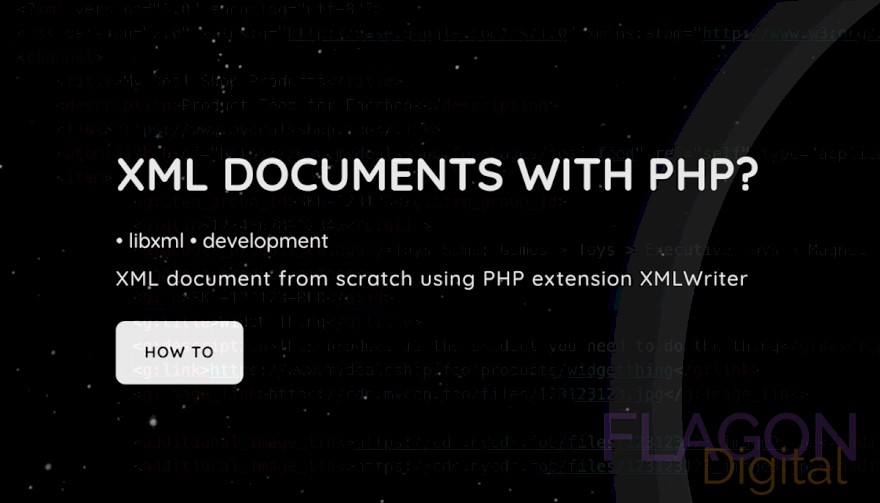 HOW CREATE XML DOCUMENTS WITH PHP?
