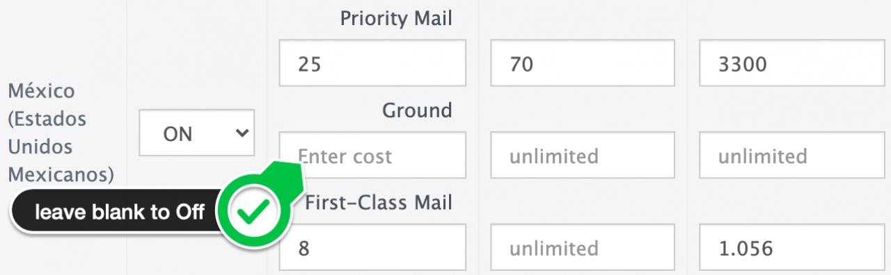 configure abantecart shipping