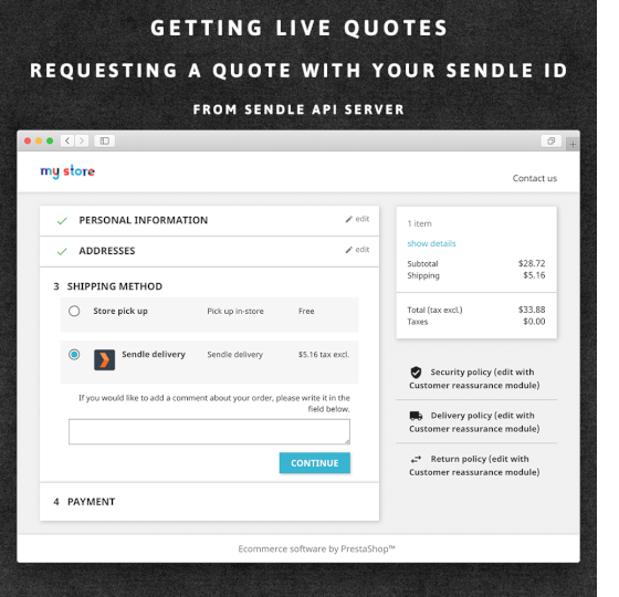 Sendle: Courier delivery Australia PrestaShop Module