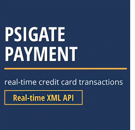 PsiGate credit card transactions API