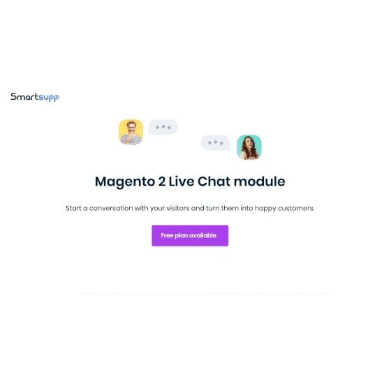 Magento 2: Smartsupp Live Chat to your shop