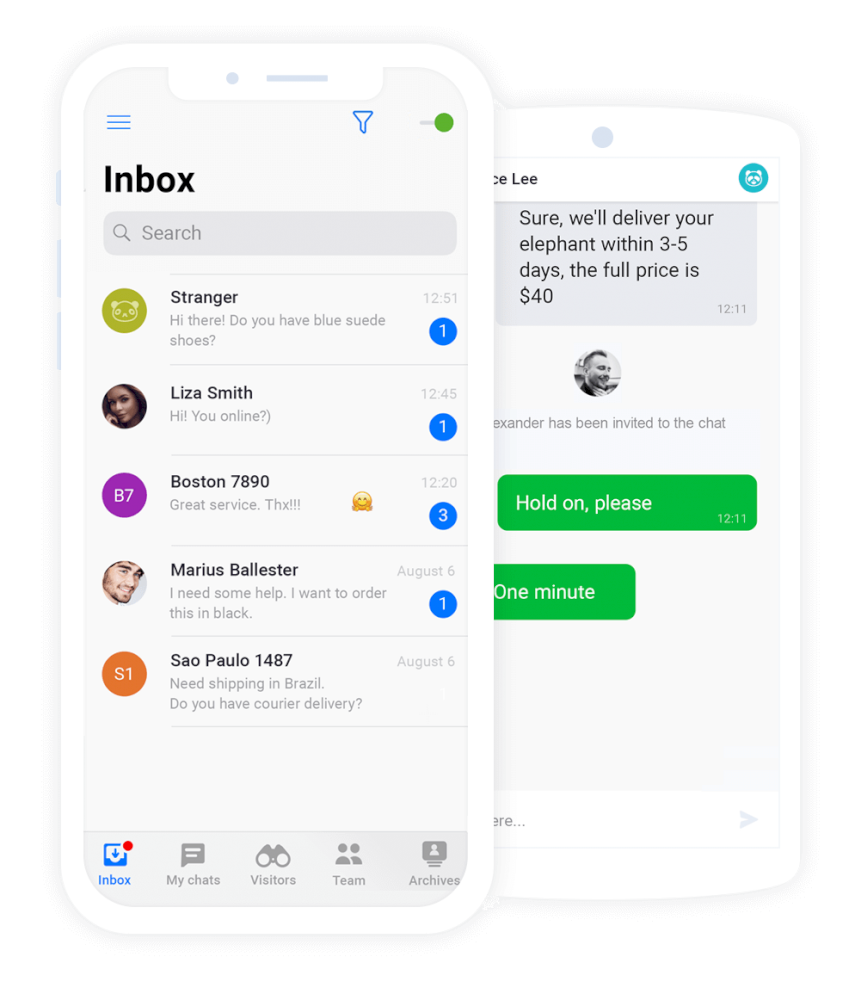 JivoChat live chat AbanteCart Integration