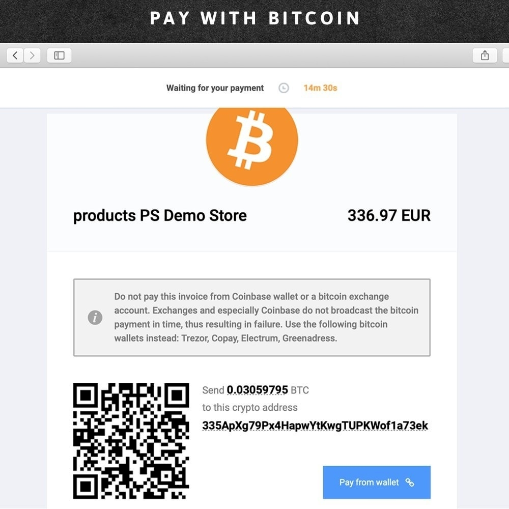 Confirmo (BitcoinPay) accept bitcoins or litecoins
