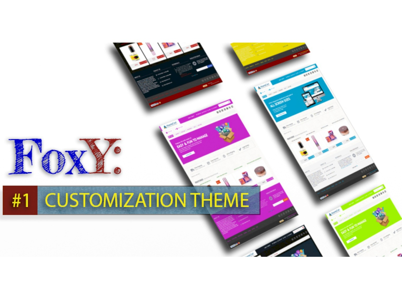 FoxY Customization AbanteCart Theme