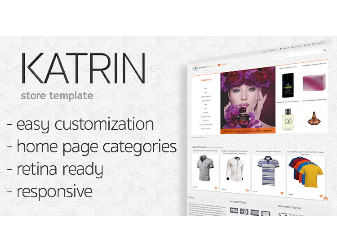 KATRIN Customisation AbanteCart theme