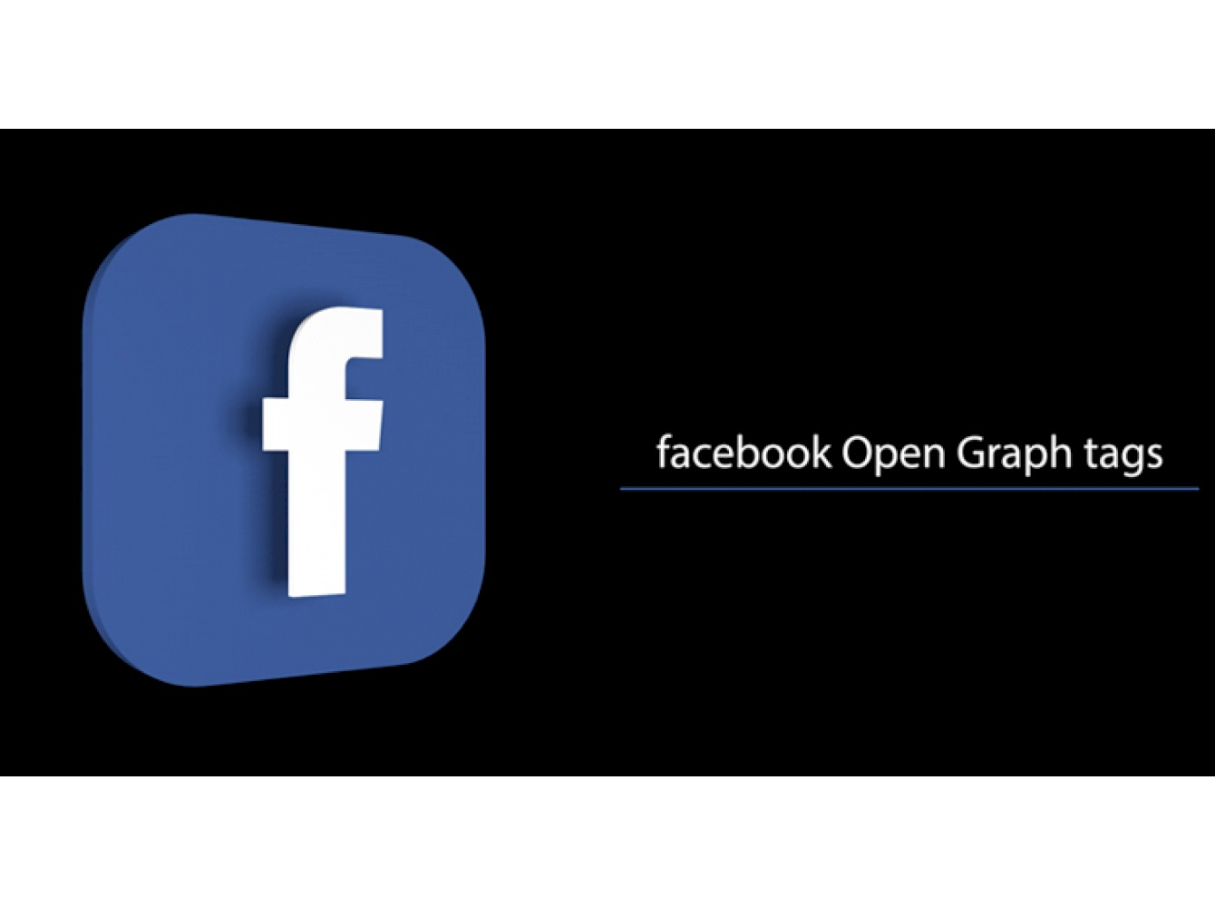 Facebook Open Graph Markup microdata tags