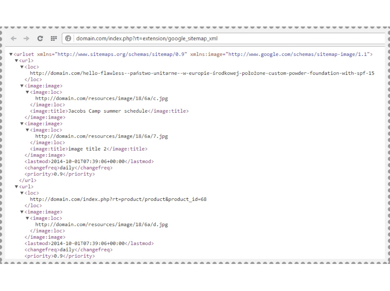 SEO Google XML Sitemap: plus Images sitemap