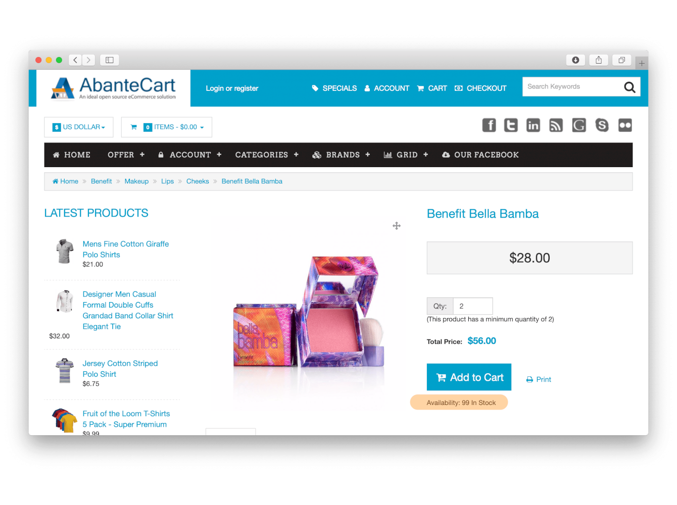 Show Products' Availability Stock on Category Pages