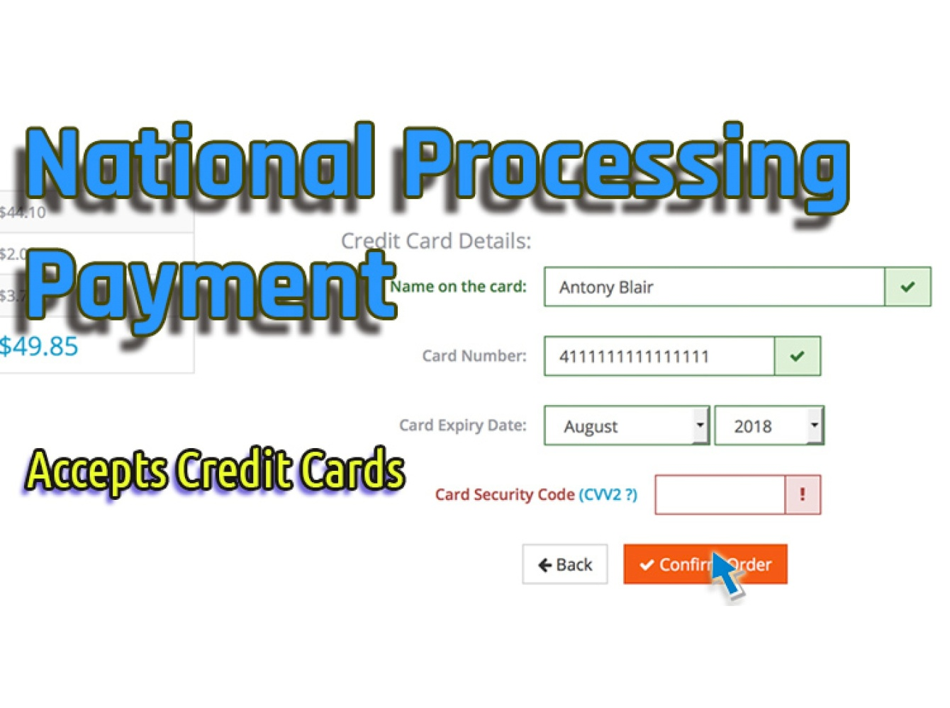 National Processing Payment