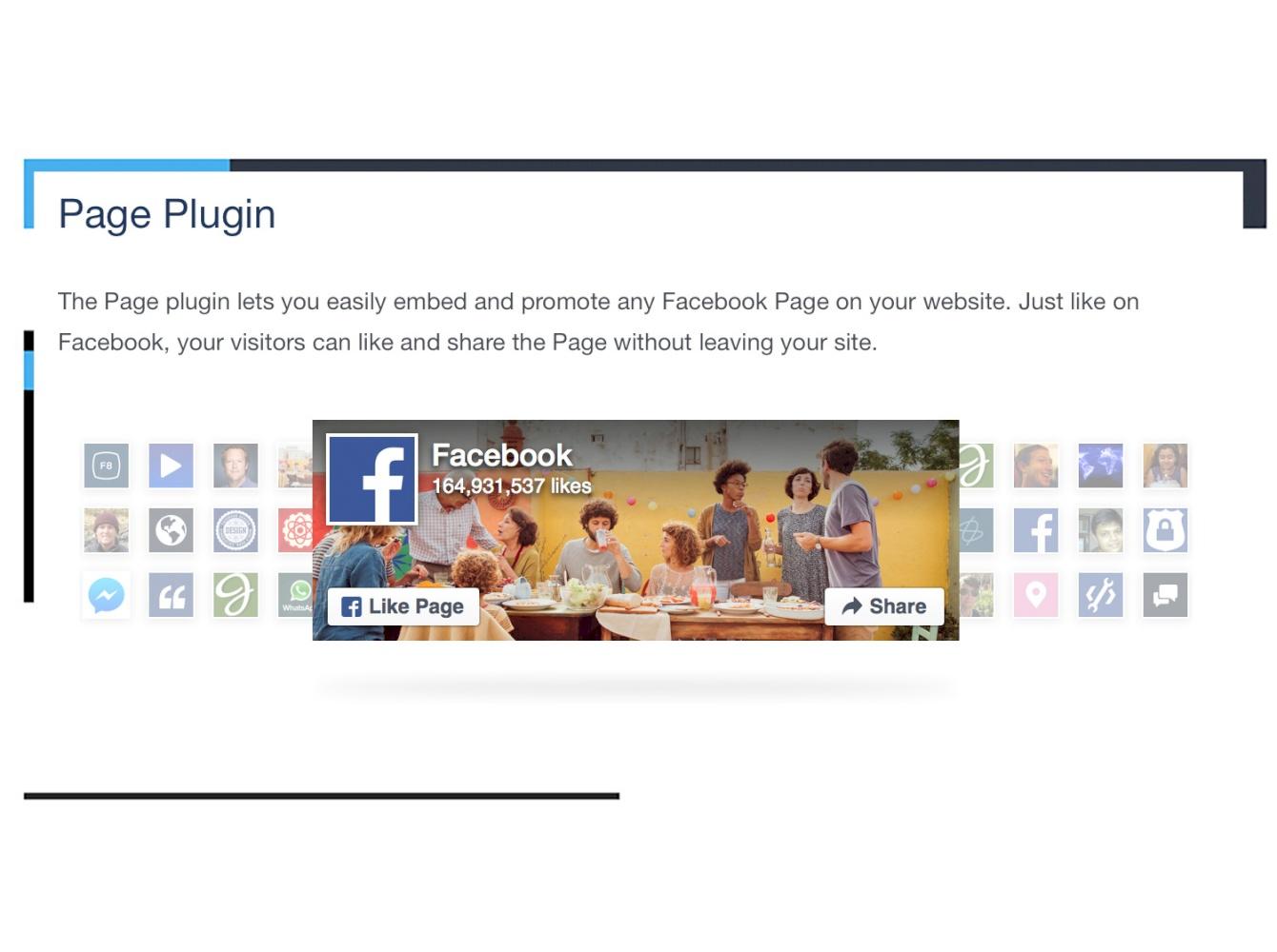 Facebook Page block