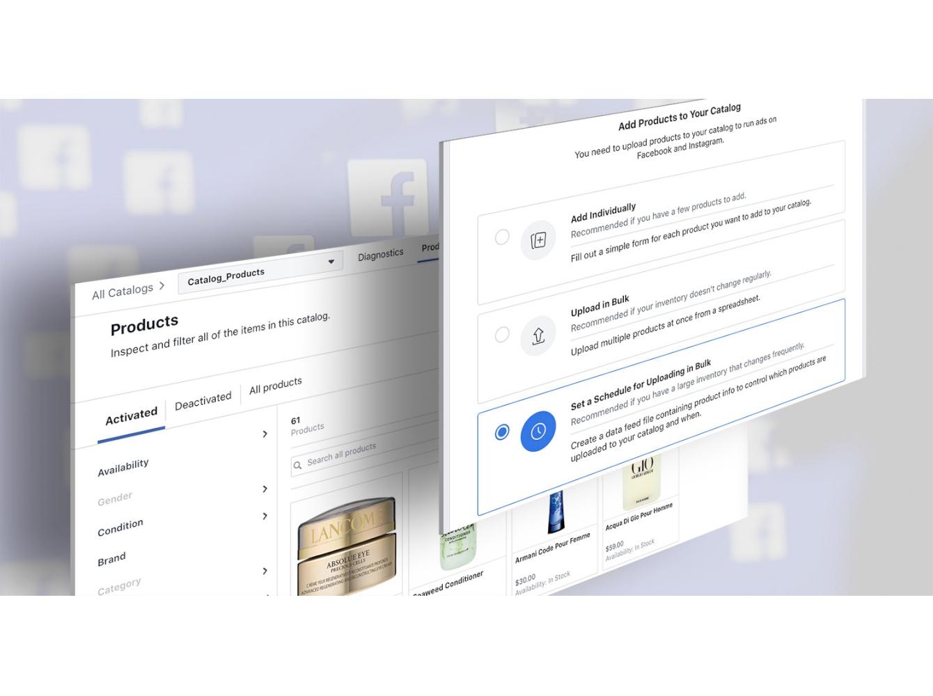 Facebook Catalog feed
