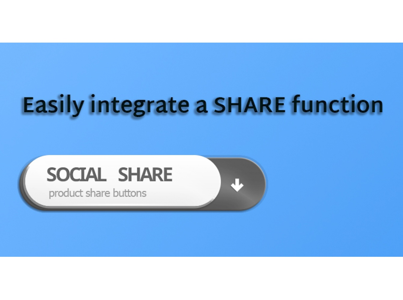 Original Share social buttons quick integration