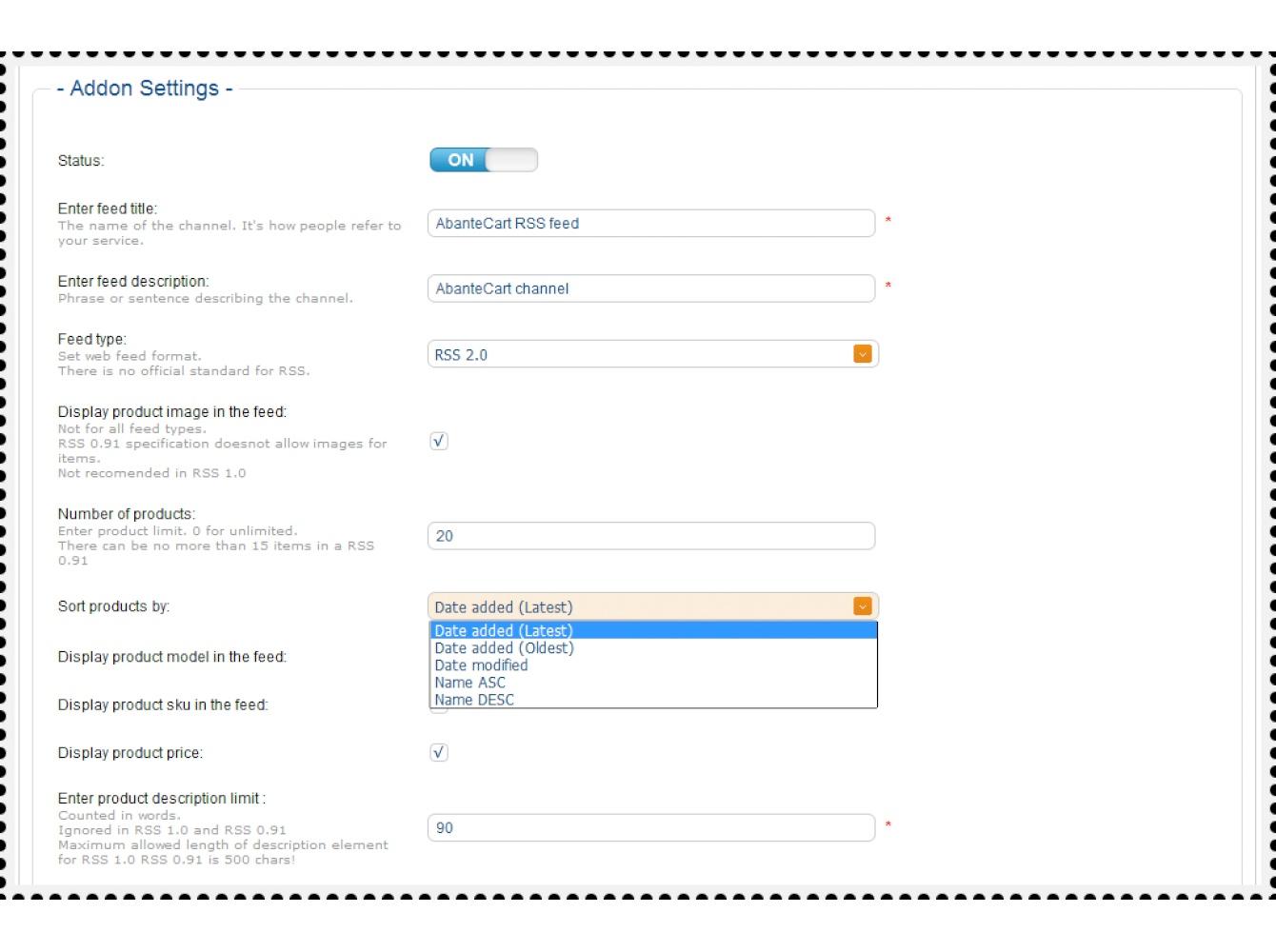 Web feeds: RSS RDF ATOM Google
