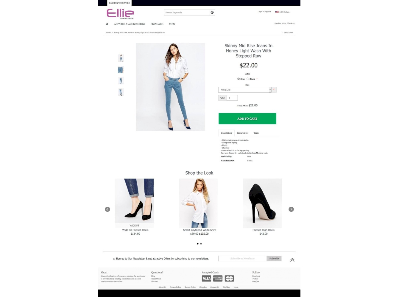 Ellie Customization Theme