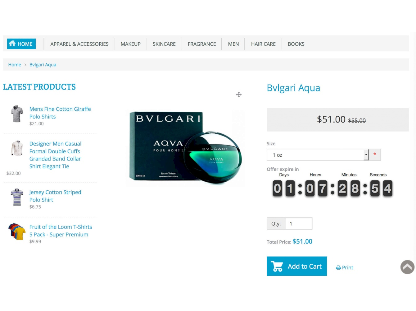 Product Sale Countdown