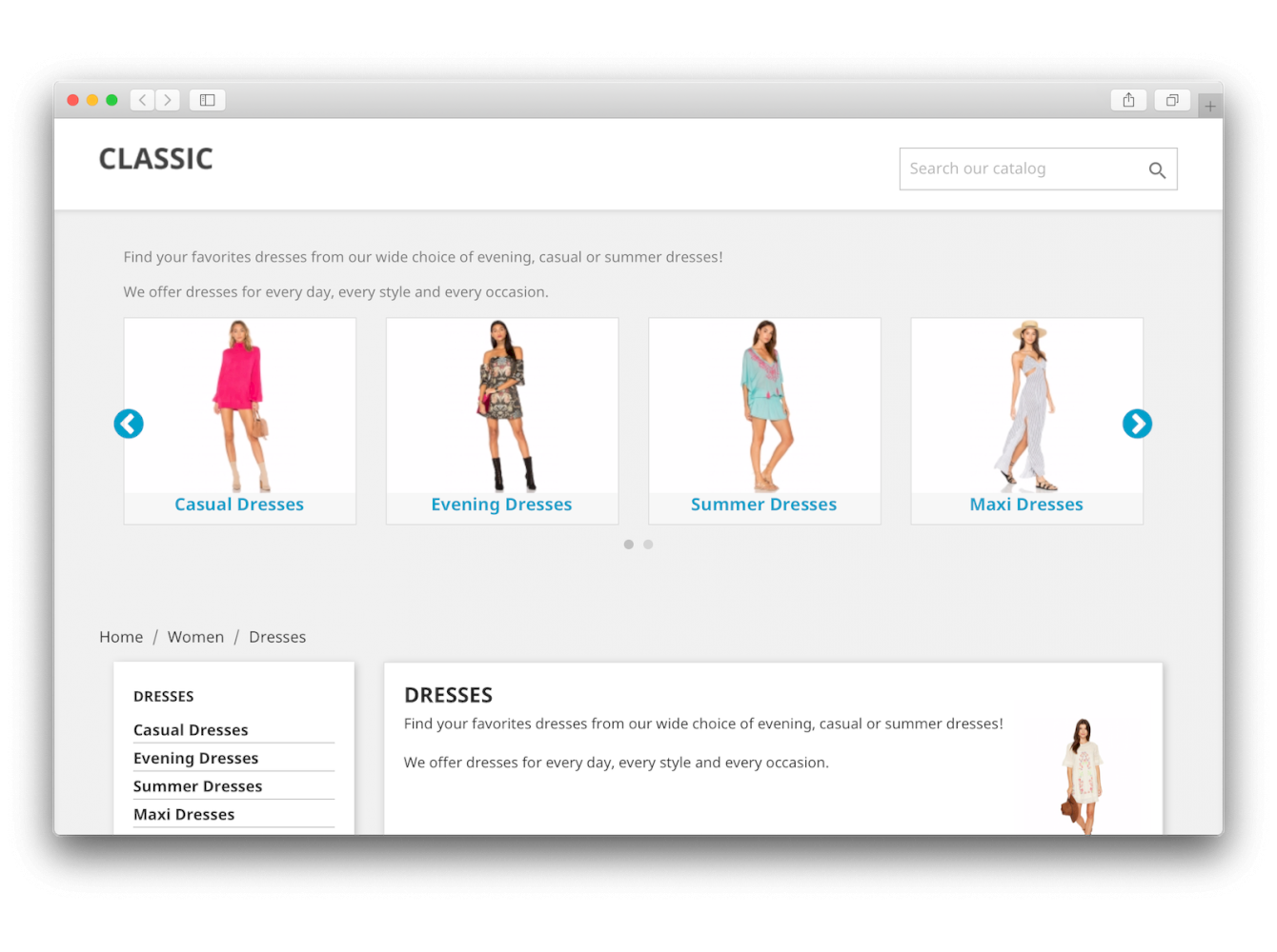 PrestaShop Category Wall Module