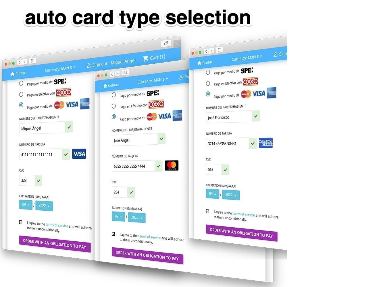 Conekta payments: OXXO, SPEI, Credit and Debit cards
